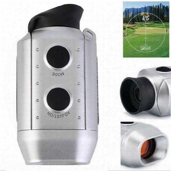 Wholesale- 1 Set Digital 7x Range Finder Golf / Hunting Laser Range Finder High Quality