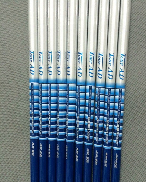Wholesale-2016 New Arrival Golf Clubs Tour Ad-65 Golf Shafts R Or S Felx Shafts With Irons Shafts 9pcs/lot High  Quality Golf Clusb Shafts