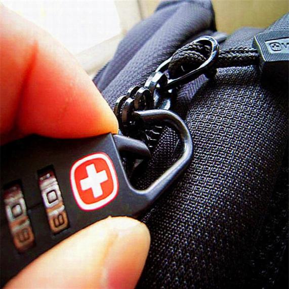 Wholesale-bag Lock Black Password Locks Mini Security Outdoor Luggage Toolbox Golf Bag Tackle Box Key Ring #xtj