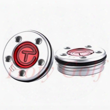 "Wholesale-brand New 2pcs 5/10/15/20/25/30/35/40g Golf Red Circle Character ""t"" Weights For Sotty Putters Free Shipping"