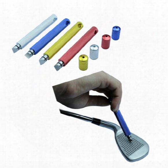 Wholesale Golf Clubs Iron Wedge U & V Groove Sharpener Cleaner Cleaning Tool 4 Colors Golf Club Head Grooving Tool Free Shipping