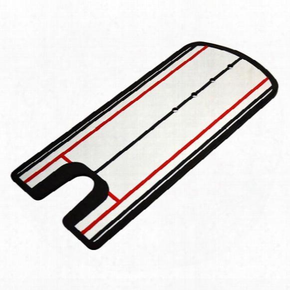 Wholesale- Golf Tool Equipment Putting Mirror Training Eyeline Alignment Practice Trainer Aid Portable