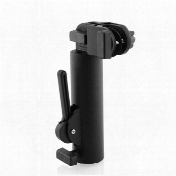 Wholesale- High Quality Plastic Push Pull Bike Car Trolley Golf Umbrella Holder Golfing Stand Support Adjustable Black