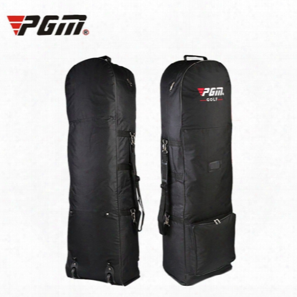 Wholesale- Original Pgm Air Golf Bag With Pulley Single-layer Consignment Golf Bags Aviation Card Bag On Front Foldable