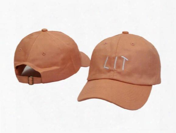 "2016 Big Sale Snapback Hats Women & Men Polo Baseball Cap Aa435  Sports Hat ""lit"" Summer Golf Caps Outdoor Casual Cotton Sunhat"