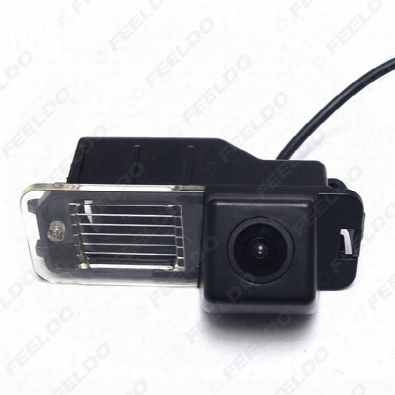 Ccd Backup Rear View Car Camera For Volkswagen Golf6/magotan/beetle/scirocco/bora/polo/passat B7 #4828