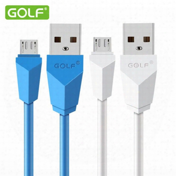 Golf Diamond Micro Usb Cable Quick Charge Data Line For Samsung Meizu Xiaomi Htc Nokia Huawei Zte Sony And I5 I6s Series Smartphone