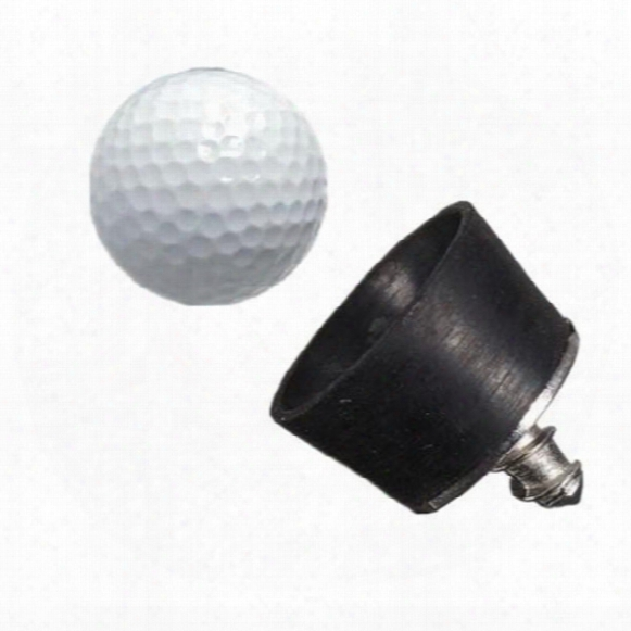 High  Quality 28x26mm Mini Black Rubber Golf Ball Pick Up Putter Grip Retriever Tool Suction Cup Pickup Screw Golf Training Aids Order<$18no