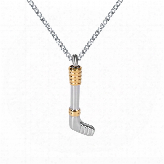Lily Cremation Urn Necklace Gold And Silver Golf Memorial Ash Keepsake Pendant With Gift Bag Funnel And Chain
