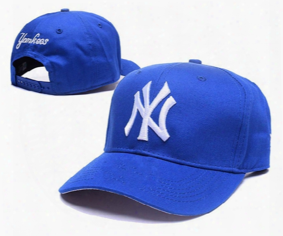 New Arrival Men's New York Ny Golf Visor Snapback Hats Embroidered Letter Ny Logo Leisure Summer Bent Visor Caps