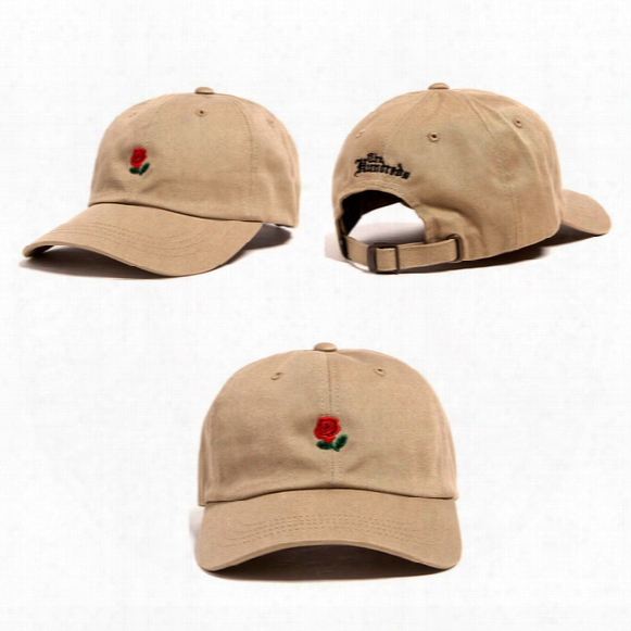 New Hot Sale The Hundreds Ball Cap Snapback The Hundreds Rose Dad Hat Baseball Caps Snapbacks Summer Fashion Golf Cardinal's Office Adjustable Sun Hats