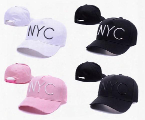 New Style Solid Black White Baseball Cap Hat Summer Style Sun Hat Men Women Nyc Outdoor Sport Golf Hat Snapback Hat
