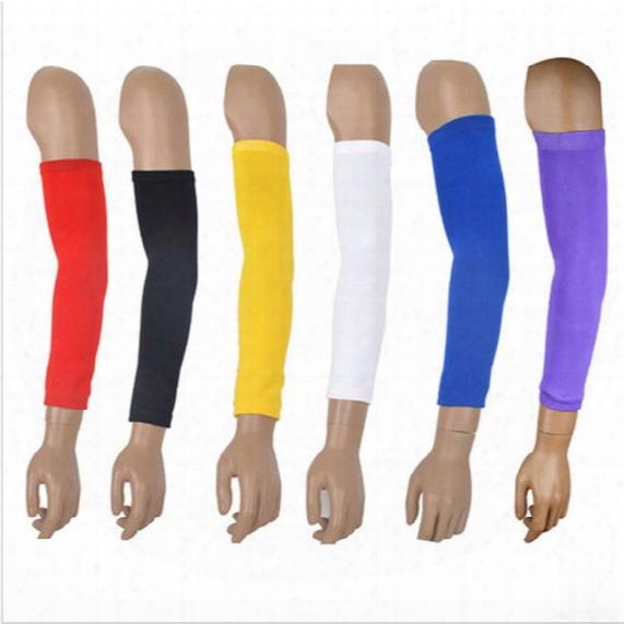Nylon Compression Arm Sleeve Basketball Golf Baseball And Sun Protection Elbow Pad Protective Wholesale
