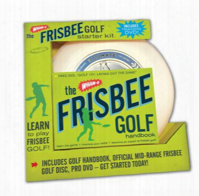 The Wham-o Frisbee Golf Starter Kit: Learn To Play Frisbee Golf! [with Official Mid-range Frisbee Gold Disc And Dvd And The Wham-o