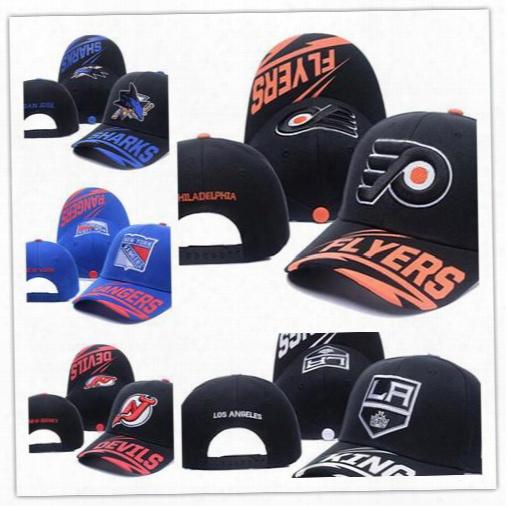 Top Sale New Arrival Men's Golf Visor Los Angeles Kings Throwback Nhl Vintage Snapback Hats Flat Sport Lk Hockey Baseball Adjustable Caps