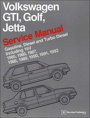 Volkswagen Gti, Golf, And Jetta Service Manual: 1985, 1986, 1987, 1988, 1989, 1990, 1991, 1992: Gasoline, Diesel And Turbo Diesel,