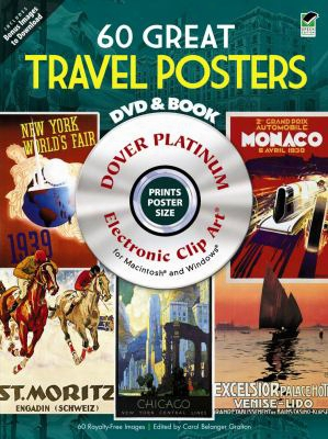 60 Great Travel Posters [with Dvd]