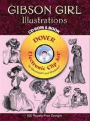 Gibson Girl Illustrations [with Cdrom]