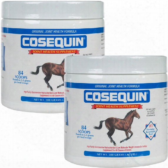 2 Pack Cosequin Equine Powder Concentrate (560 Gm)