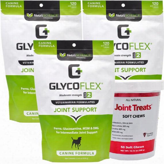 3-pack Glycoflex 2 (360 Soft Chews)
