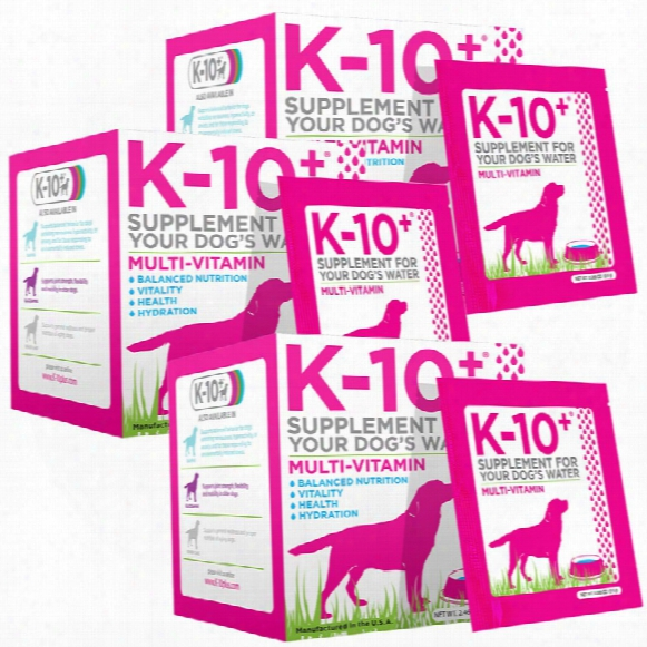 3-pack K-10+ Multi-vitamins