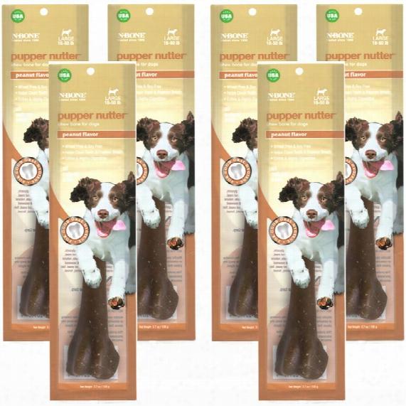 6-pack N-bone Pupper Nutter - Large