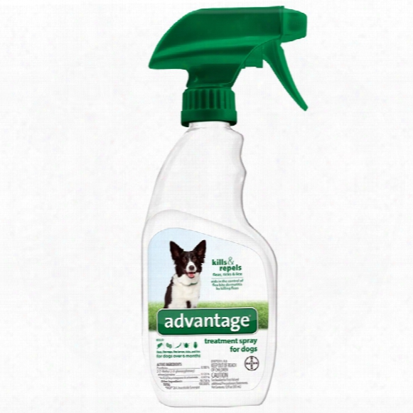 Advantage Treatment Spray For Dogs (12 Oz)