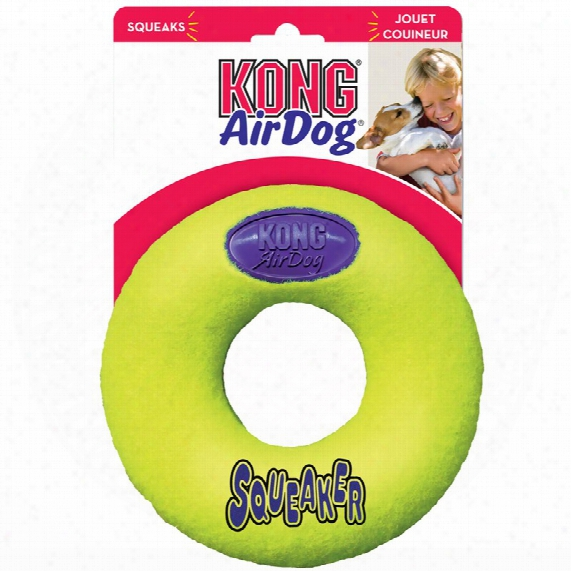 Air Kong Squeaker Donut - Medium