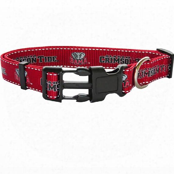 Alabama Dog Collar - Ribbon (small)