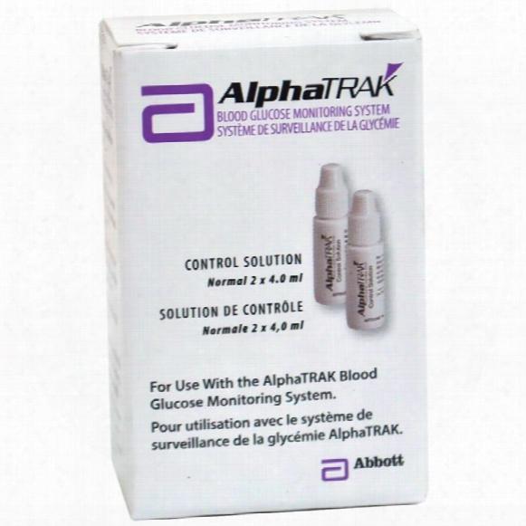 Alphatrak Control Solution - Two 4.0 Ml Bottles