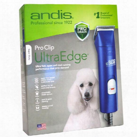 Andis Proclip Ultraedge Pet Clipper - Blue