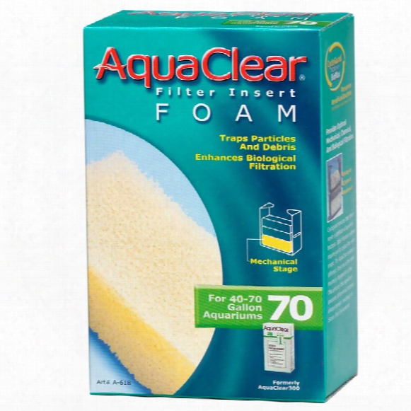 Aquaclear 70 Filter Insert Foam