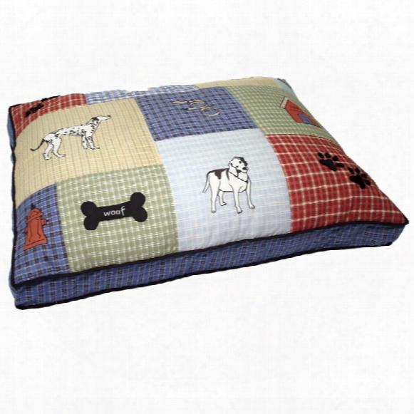 "Aspen Pet Quilted Classic Dog Aspen Petplique Gusseted (27"" X 36"") - Assorted"