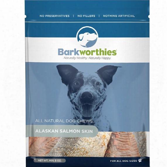 Barkworthies Alaskan Salmon Skin (5 Oz)