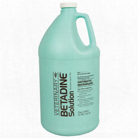 Betadine Solution (gallon)