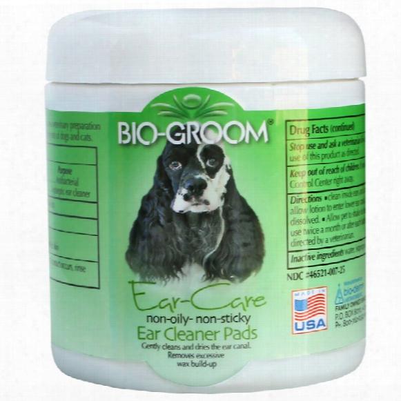 Bio-groom Ear-care Pads (25 Pads)