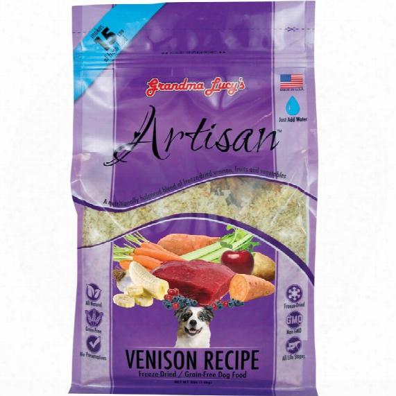 Grandma Lucy's Freeze-dried Grain-free Artisan Venison Dog Food (3 Lbs)