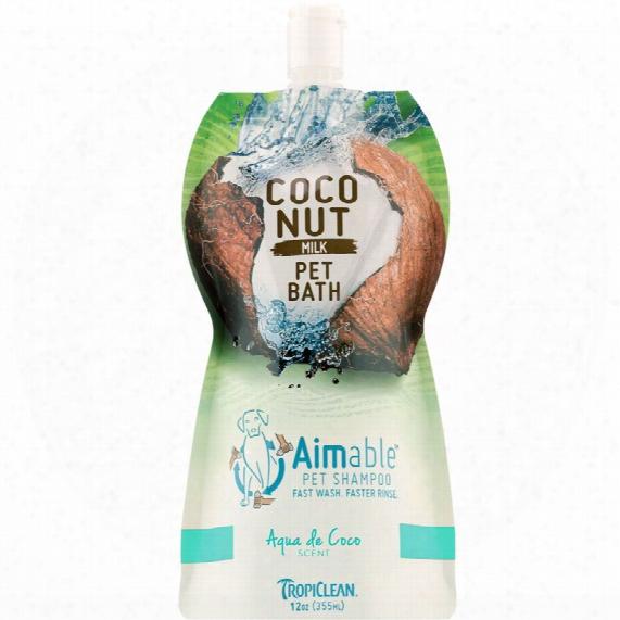 Tropiclean Aimable Pet Shampoo - Aqua De Coco Scent (12 Oz)