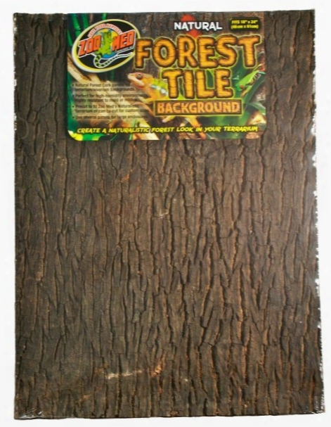 "Natural Forest Tile Background (18""x24"") Fits Nt-4 Xl"