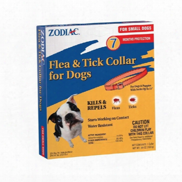 Zodiac Tick Collar For Dogs (7 Months) Small