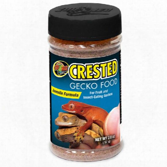 Zoo Med Crested Gecko Food - Juvenile Formula (2 Oz)