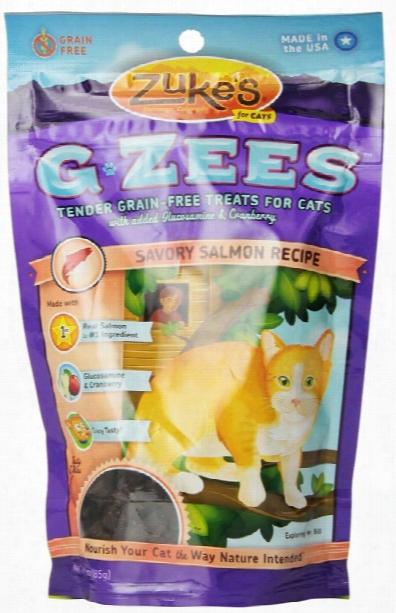 Zuke's G Zees Salmon Cat Treats (3 Oz)