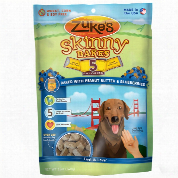 Zuke's Skinny Bakes - Peanut Butter & Blueberries (12 Oz)