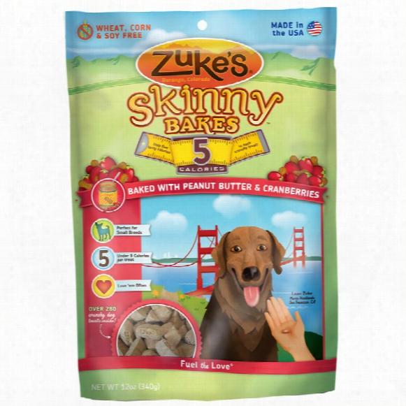 Zuke's Skinny Bakes - Peanut Butter & Cranberries (12 Oz)