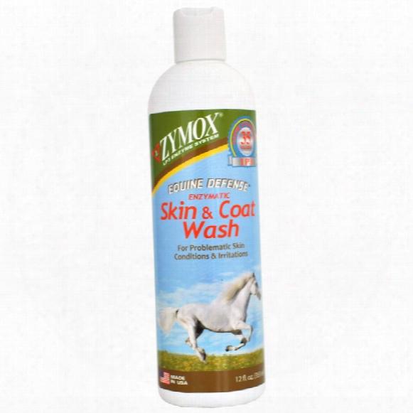 Zymox Equine Defense Enzymatic Skin & Coat Wash (12 Fl Oz