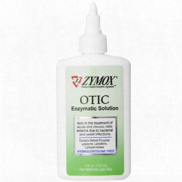 Zymox Otic Hydrocortisone Free - 4 Fl. Oz.