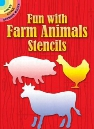 Fun with Farm Animals Stencils