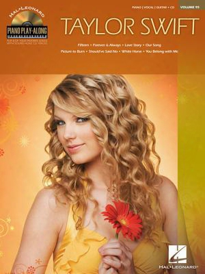 Taylor Swift: Piano Play-along Volume 95