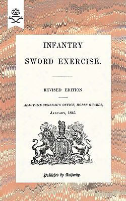 Infantry Sword Exercise. 1845