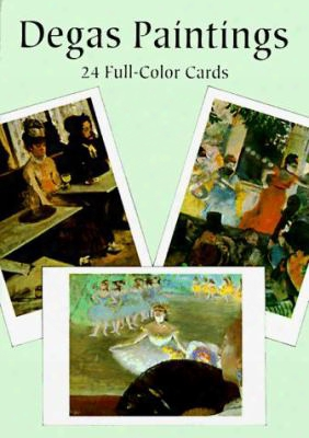 Degas Paintings: 24 Full-color Cards